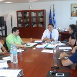 Συνάντηση μελών Δ.Σ. με Γεν. Γραμ. Αποκεντρ. Διοίκησης