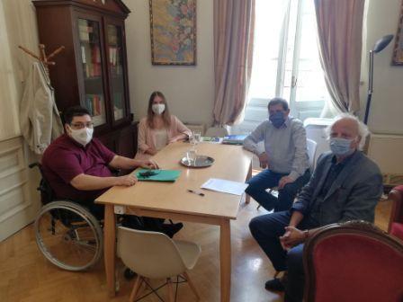 Συνάντηση για τα Ανταποδοτικά, Δημοτικά Τέλη του Δήμου Πατρέων