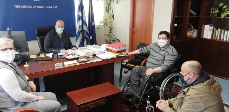 Δελτίο Τύπου: Συνάντηση με τον Αντιπεριφερειάρχη Π.Ε. Αχαΐας, κ. Χ. Μπονάνο